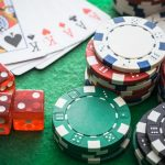 uncontrolled gambling.